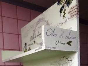 Półka (z 3 półkami) do kuchni oliwki 3 - 2844141598