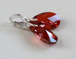Red Magma - kolczyki - 2846328253