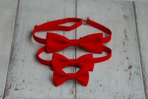 Komplet czerwony - Mama, tata i syn - 2847365431