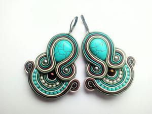 Kolczyki sutasz Turquoise Day - 2861145280