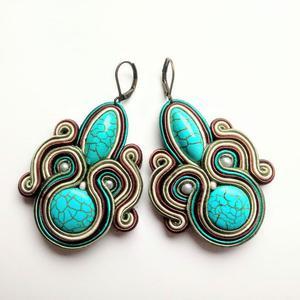 Kolczyki sutasz Turquoise Morning - 2861145282