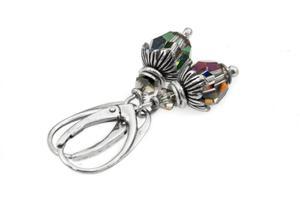Kolczyki srebrne Swarovski vitrail medium - 2861153599