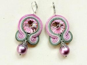 Kolczyki sutasz Pink Ball - 2861145395