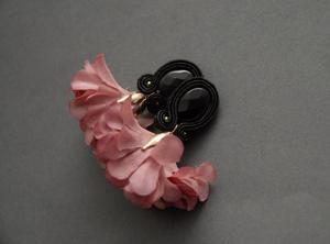 kolczyki / klipsy sutasz z kwiatkiem 2 - 2861165270