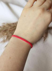 Czerwona bransoletka Relva - 2861150340