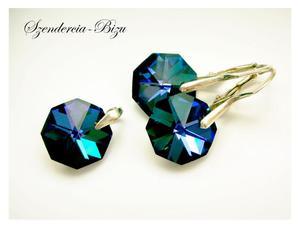 Komplet Preciosa Crystals Octagon Heliotrope - 2835871624
