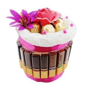 Słodki Tort z cukierków MERCI - 2823811421