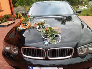 dekoracja samochodu do ślubu WZÓR 1 - 2823810631