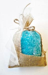 Naturalna Sól do Kąpieli MORZE MARTWE niebieska 400 g - 2823810908