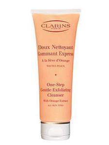 CLARINS Doux Nettoyant łagodny peeling myjący do twarzy 125ml + Próbka Gratis!