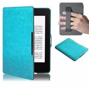 Amazon Kindle Etui Kindle Paperwhite Eko-skóra Turkusowe - 2853773266