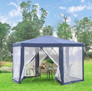 Pawilon ogrodowy 3,9 x 3,9 z moskitiera HIT KOLORY - 2865093529