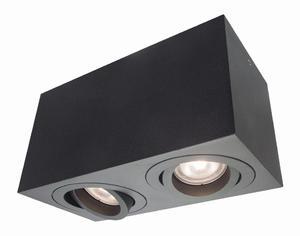 Lyon 2 oprawa natynkowa czarna LP-5881/2SM BK - 2860963084