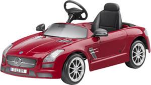 Samochód dziecięcy z napędem elektrycznym Mercedes-Benz SLS AMG Le Mans red - 2824155897