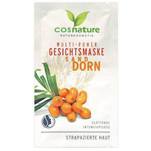 cosnature - Naturalna multi-odżywcza maseczka do twarzy z rokitnikiem - 2868343788