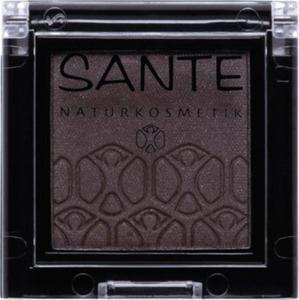 sante - Cienie do powiek Mono Shade 06 dazzling grey - 2850292205