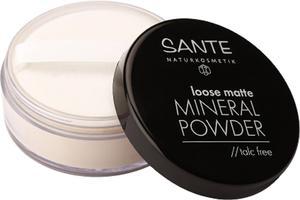 sante - Mineralny puder sypki 01 light beige - 2850292219