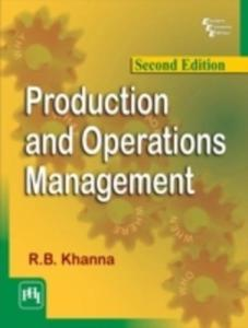 Production And Operations Management - 2849931025