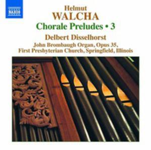 Walcha: Chorale Preludes Volume 3 - 2839322308