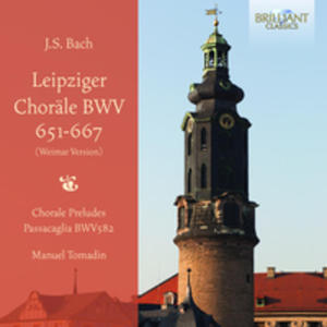 J. S. Bach: Leipziger Chorale Bwv651 - 667 (Weimar Version) - 2839299065