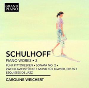Erwin Schulhoff: Piano Works Vol. 2 - 2839329648