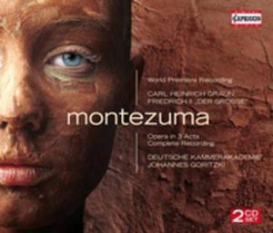 """Carl Heinrich Graun / Friedrich II """"Der Grosse"""": Montezuma - 2839274232"""