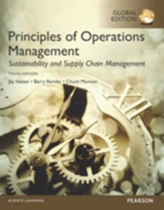 Principles Of Operations Management: Sustainability And Supply Chain Management - 2840416173
