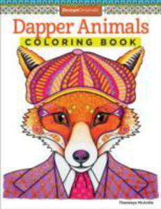 Dapper Animals Coloring Book - 2845348082