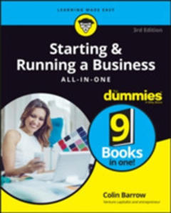 Starting & Running A Business All - In - One For Dummies - 2843702210