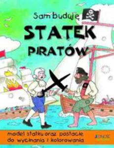 Statek Piratów Model Statku Oraz Postacie Do Wycinania I Kolorowania - 2856354118