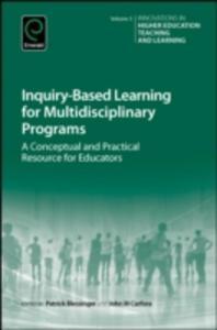 Inquiry - Based Learning For Multidisciplinary Programs - 2840147460