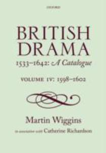 British Drama 1533 - 1642: A Catalogue - 2849499456