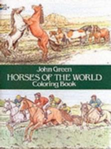 Horses Of The World Colouring Book - 2846736053