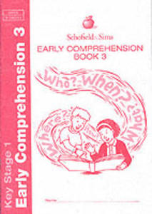 Early Comprehension Book 3 - 2839950192