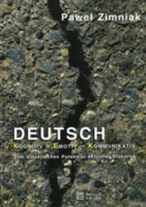 Deutsch Kognitiv Emotiv Kommunikativ - 2840187463