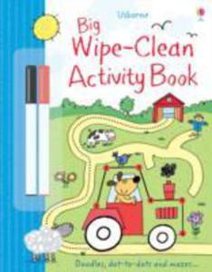 Big Wipe Clean Activity Book - 2843688095