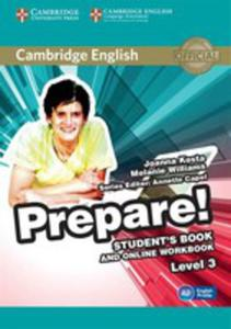 Cambridge English Prepare! 3 Student's Book + Online Workbook - 2840388372