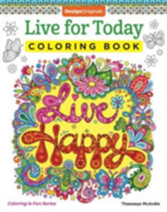 Live For Today Coloring Book - 2842847611