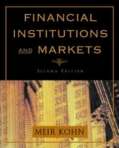 Financial Institutions And Markets - 2850515431