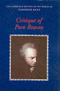 Critique Of Pure Reason - 2848176567