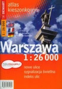 Warszawa 1:26 000 Kieszonkowy Atlas Miasta - 2839224089