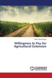 Willingness To Pay For Agricultural Extension - 2860621749
