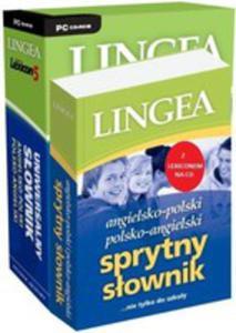Angielsko-polski I Polsko-angielski Sprytny Słownik + Cd + Uniwersalny Słownik - 2839297058