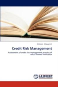 Credit Risk Management - 2857094857