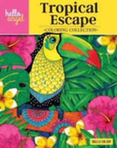 Hello Angel Tropical Escape Coloring Collection - 2848636452
