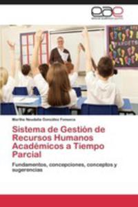 Sistema De Gestion De Recursos Humanos Academicos A Tiempo Parcial - 2860382704