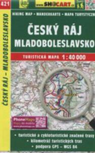 Cesky Raj Mladoboleslavsko Mapa Turystyczna 1:40 000 - 2850825169