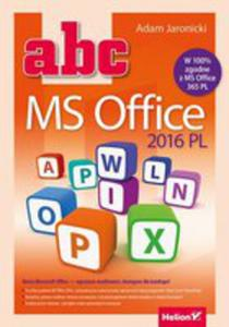 Abc Ms Office 2016 Pl - 2840329046