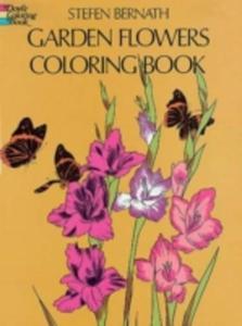 Garden Flowers Coloring Book - 2841486160
