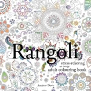 Rangoli: Stress-relieving, Art Therapy Adult Colouring Book - 2841721656